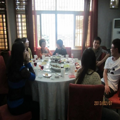 2013年公司春节聚餐